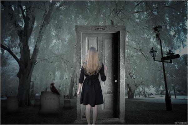 Non bussare a quella porta la morry for Porta chiusa